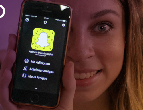 Diretriz Digital também no Snapchat
