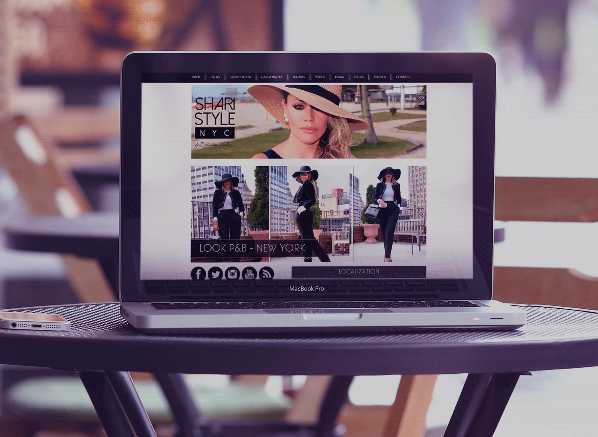 site-blog-shari-style-nyc-portfolio-criacao-sites-agencia-diretriz-digital-marketing