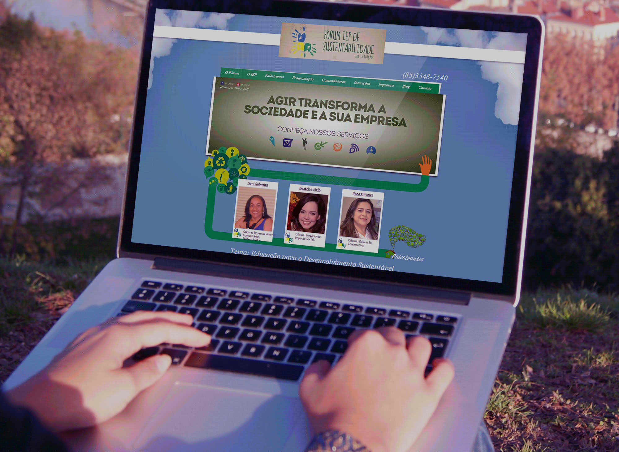 site-forum-iep-sustentabilidade-portfolio-criacao-sites-agencia-diretriz-digital-marketing