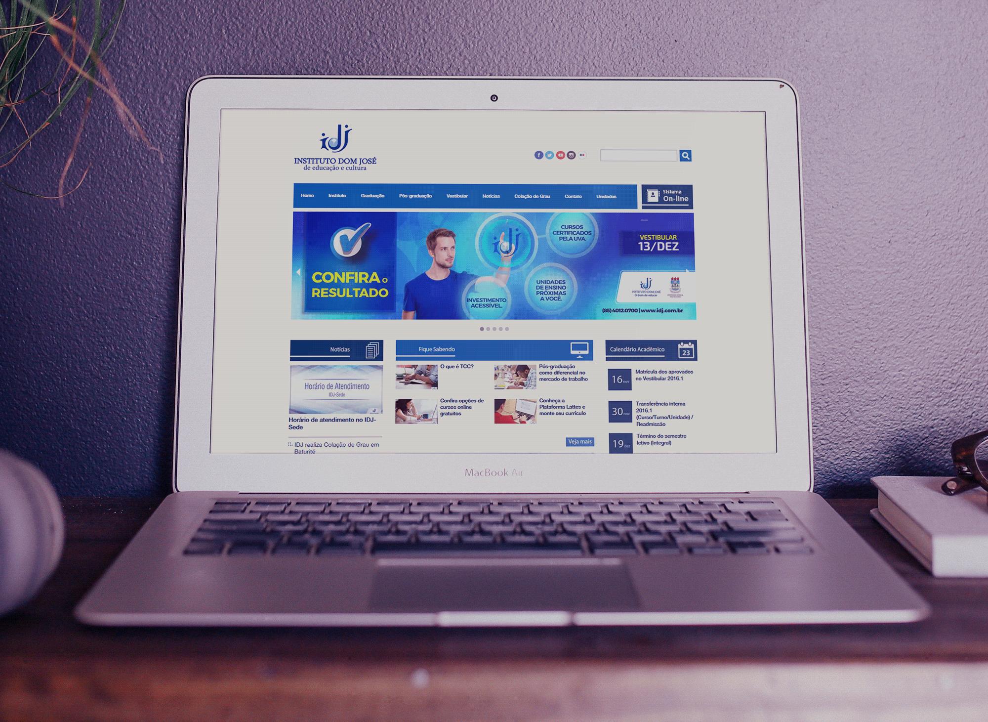 site-instituto-educacao-portal-idj-portfolio-criacao-sites-agencia-diretriz-digital-marketing