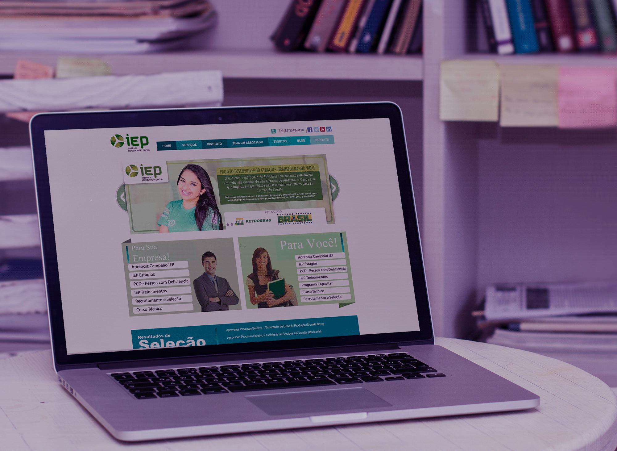 site-instituto-educacao-portal-iep-portfolio-criacao-sites-agencia-diretriz-digital-marketing