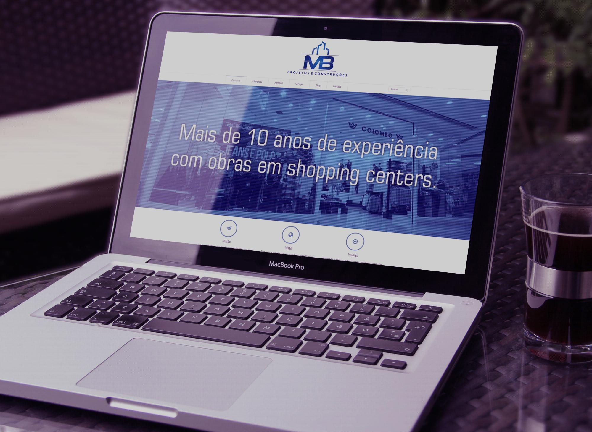 site-mb-projetos-construcoes-portfolio-agencia-diretriz-digital-marketing-fortaleza
