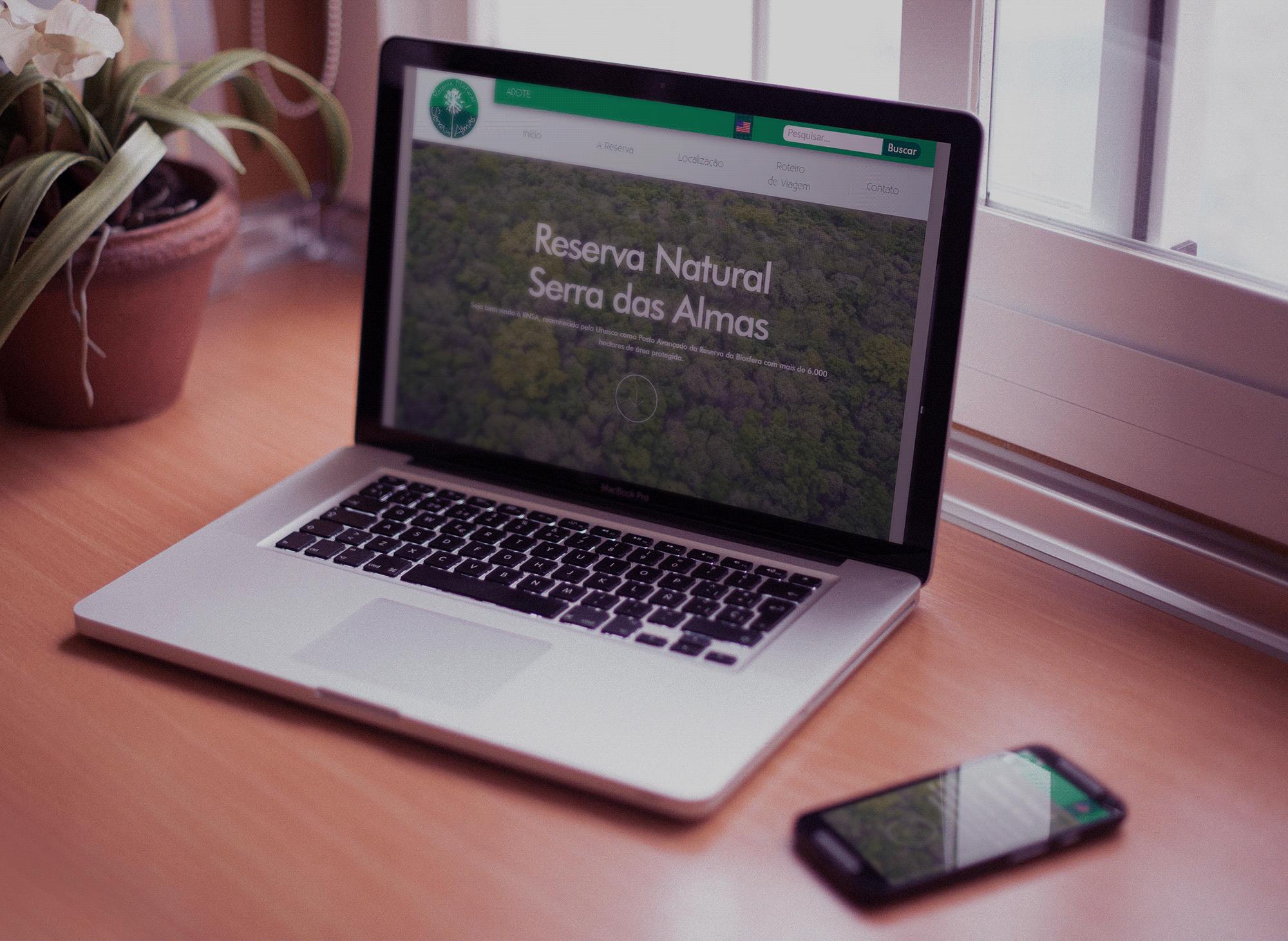 site-reserva-natural-serra-das-almas-rnsa-portfolio-criacao-sites-agencia-diretriz-digital-marketing