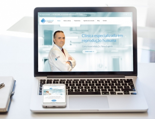Site Clínica Medicina Reprodutiva